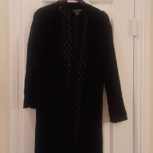 Ralph Loren Black Sweater Jacket XL